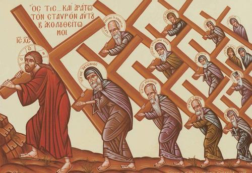 cross-follow Christ