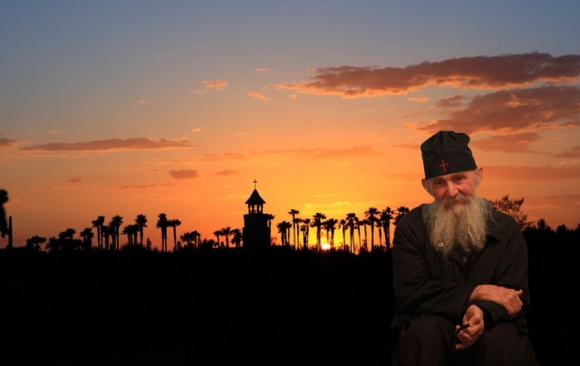 St Anthony Monastery - Elder Ephraim Inset