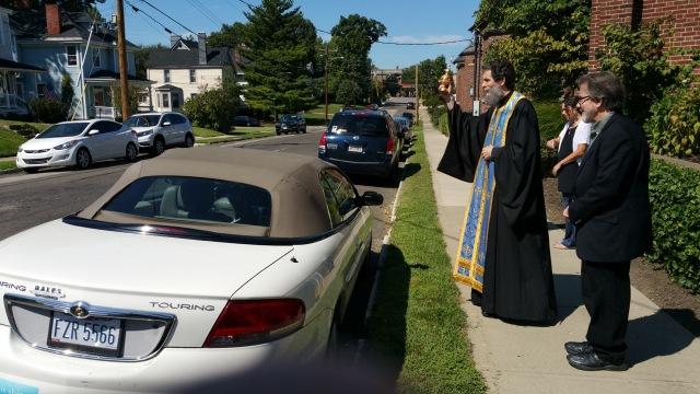 Car Blessing, Sept 2016