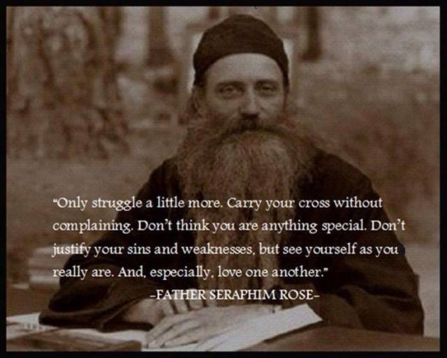Fr Seraphim w quote