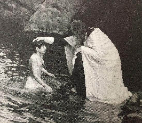 FrSeraphim-baptizes-MartinianPrince