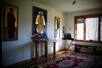 Chapel at the Nuns' residence.