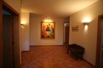 Nuns' foyer...