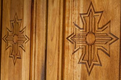 Chapel doors.