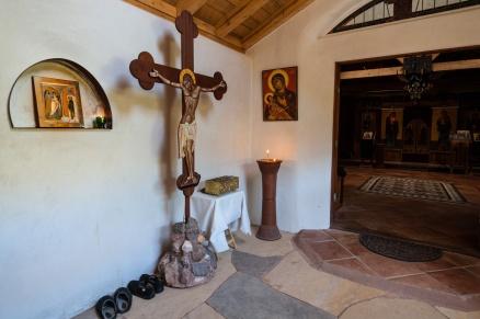 Chapel narthex.