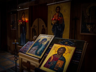 Iconostasis and icons...