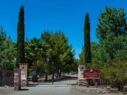 A beautiful, gated entrance...